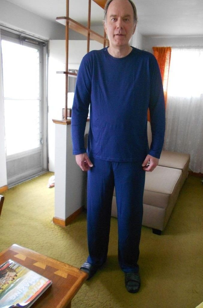 Cool-jams wicking sleepwear for men