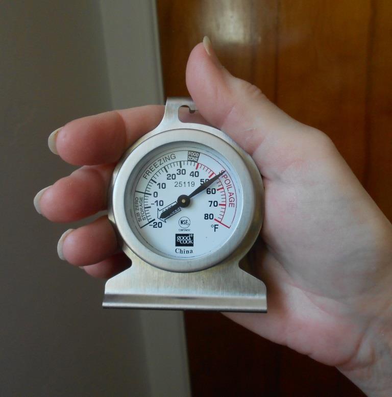 Refrigerator Food Safety Refrigerator Thermometer