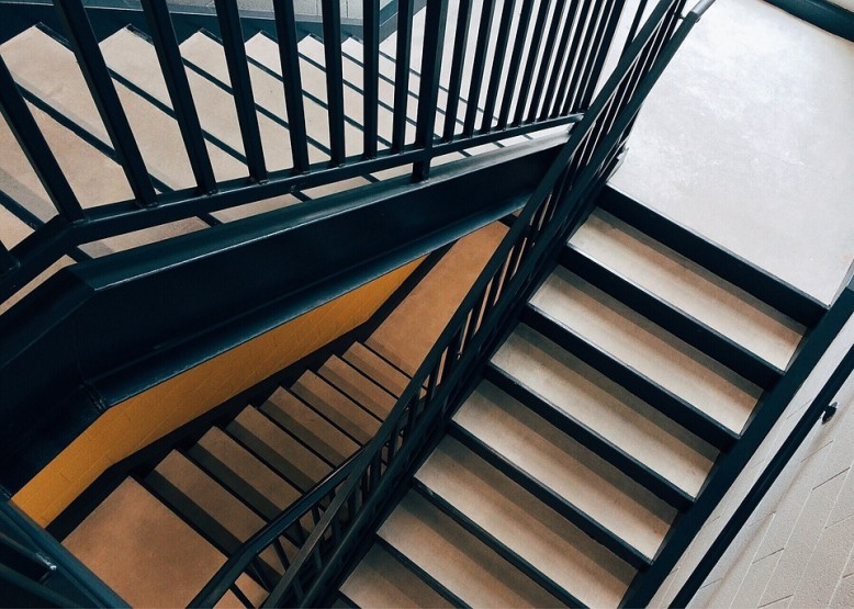 The Risks You Take When Working Late Stairs Pixabay Image