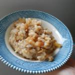 Crock-Pot Apples and Rice Dessert