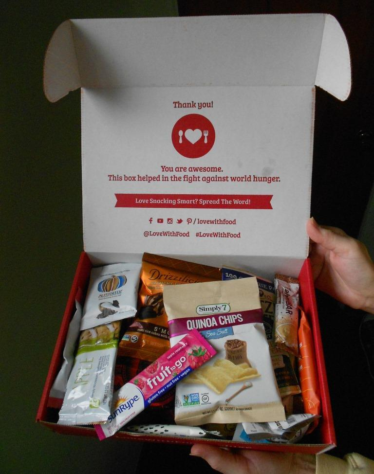 Love With Food Deluxe Box November 2018