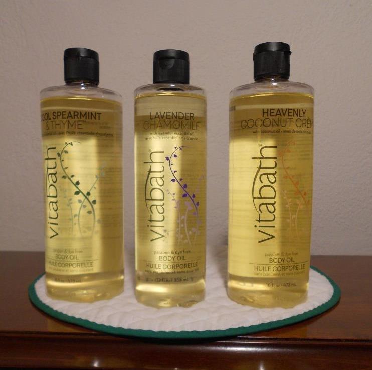 Vitabath Body Oils