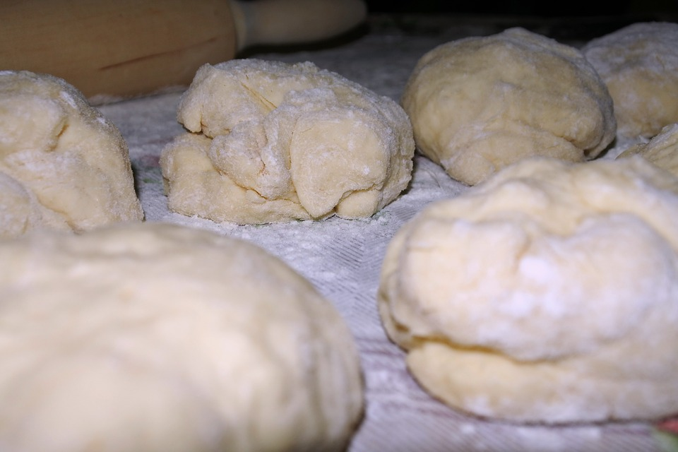Flour Play Dough Balls Illustrating Unexpected Uses of Flour Besides Baking