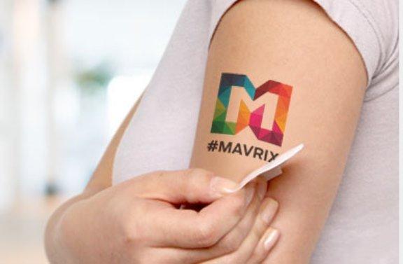StickerYou.com Temporary Tattoo