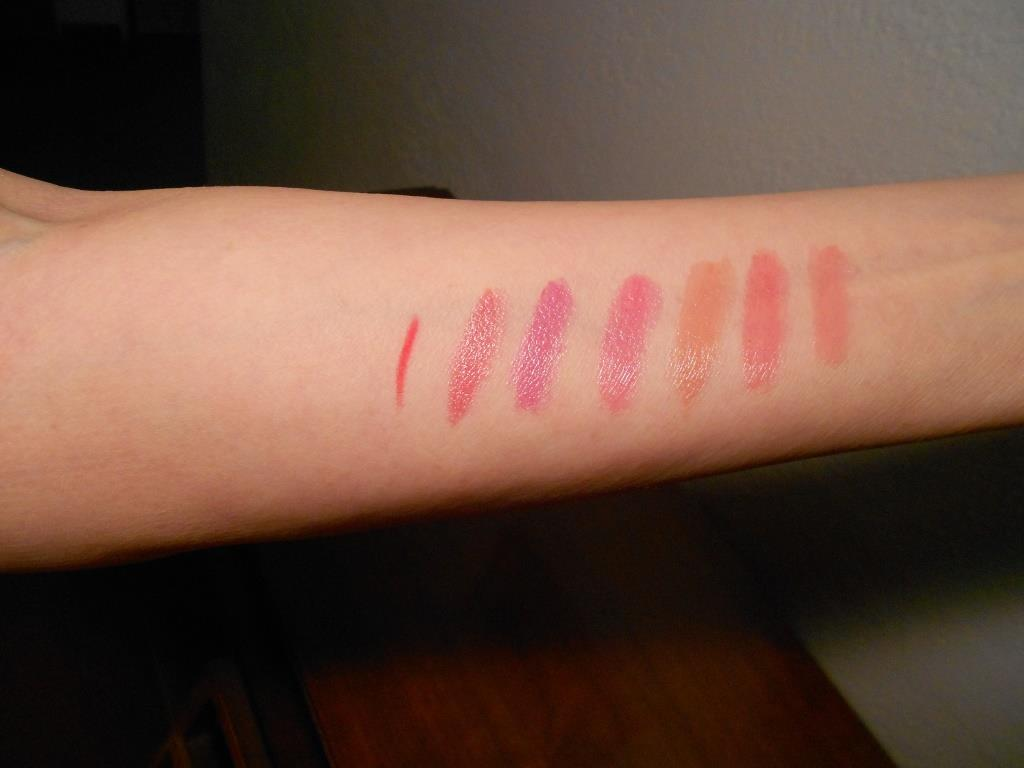 Rouge Bunny Rouge Tinted Luxe Lip Balms and Lip Liner Swatches