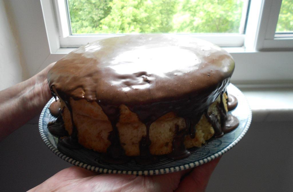 Easy Boston Cream Pie Front