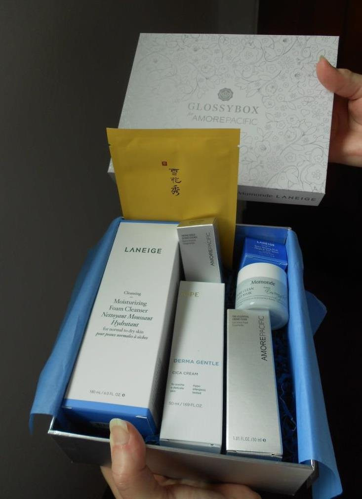 Glossybox Amorepacific Limited Edition 2019