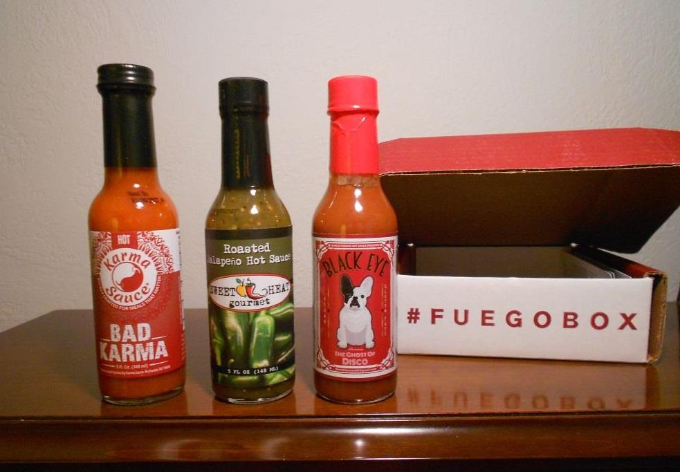 Fuego Box May 2019 With Box