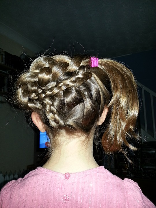 Air-Drying Hair for Summer Style Braids