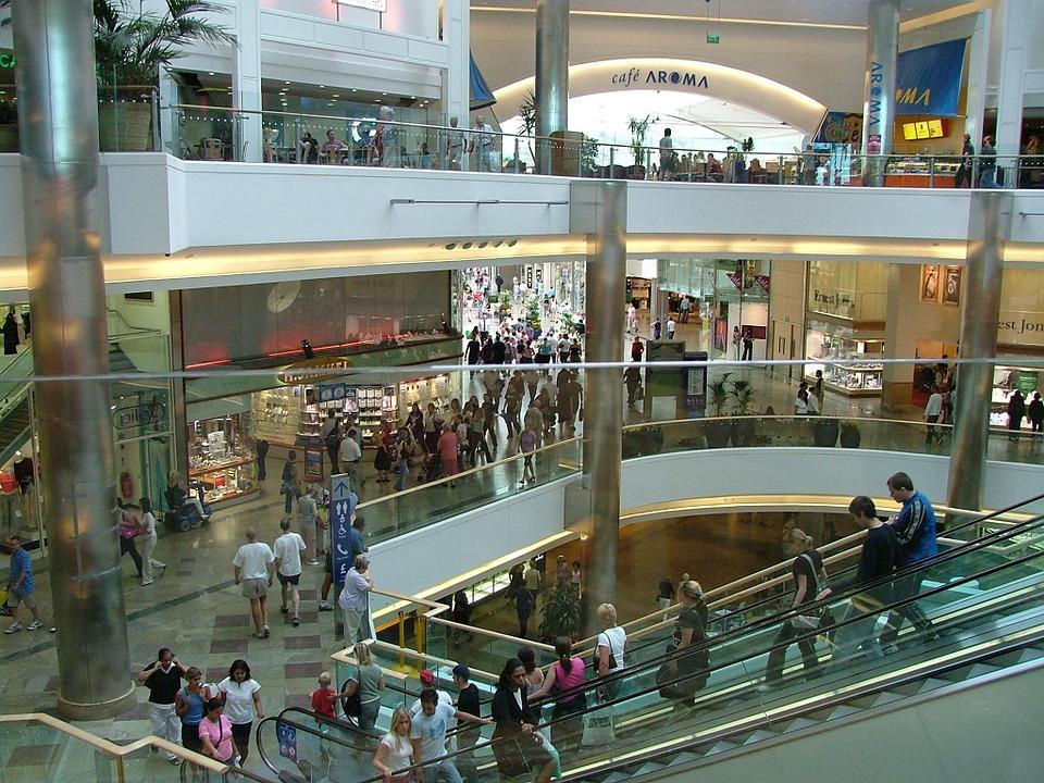 back to school shopping shopping center
