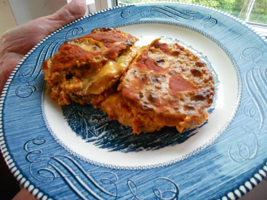 Eggplant Parmesan Americano