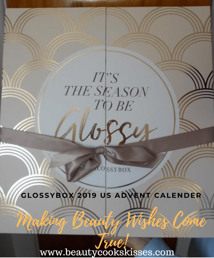 Glossybox 2019 US Advent Calender