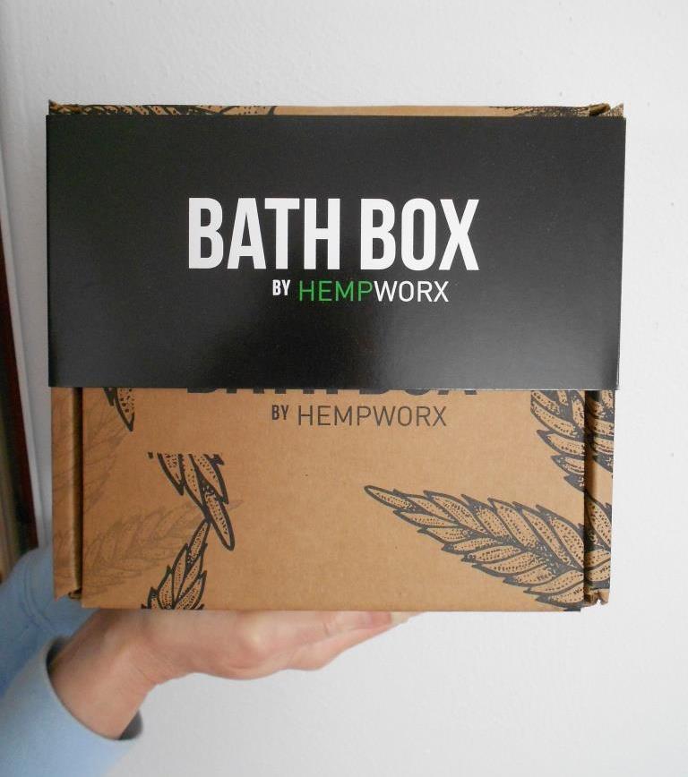 HempWorx CBD Bath Bombs Box