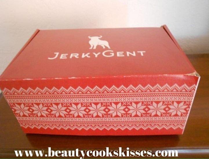 JerkyGent Beef Jerky Gift Box Closed