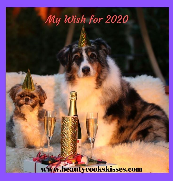 My Wish for the New Year 2020 Dogs Celebrating