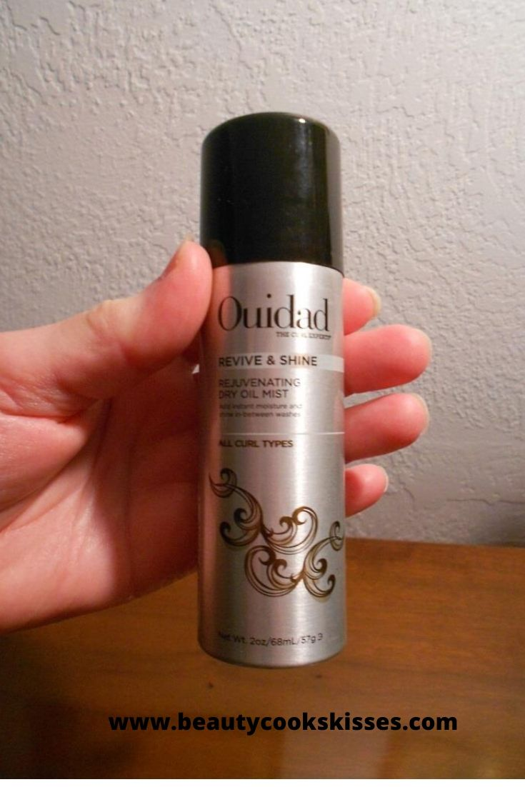 Ouidad Revive & Shine Dry Oil Mist