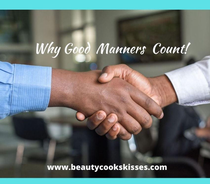 Why Good Manners Count Handshake