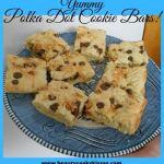 Polka Dot Cookie Bars