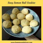 Easy Lemon Ball Cookies