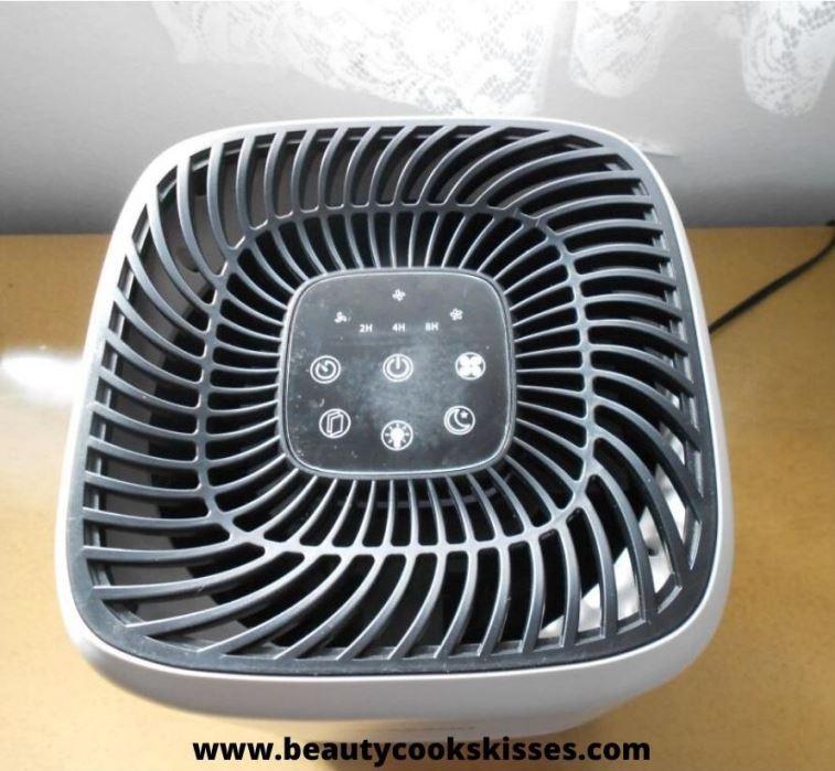 HEPA Air Purifier Control Panel