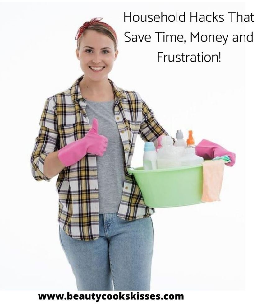 Household Hacks Cleaning Products Organization