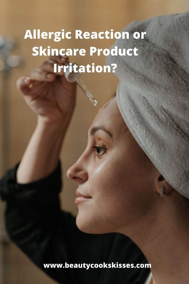 Allergic Reaction or Skincare Product Irritation