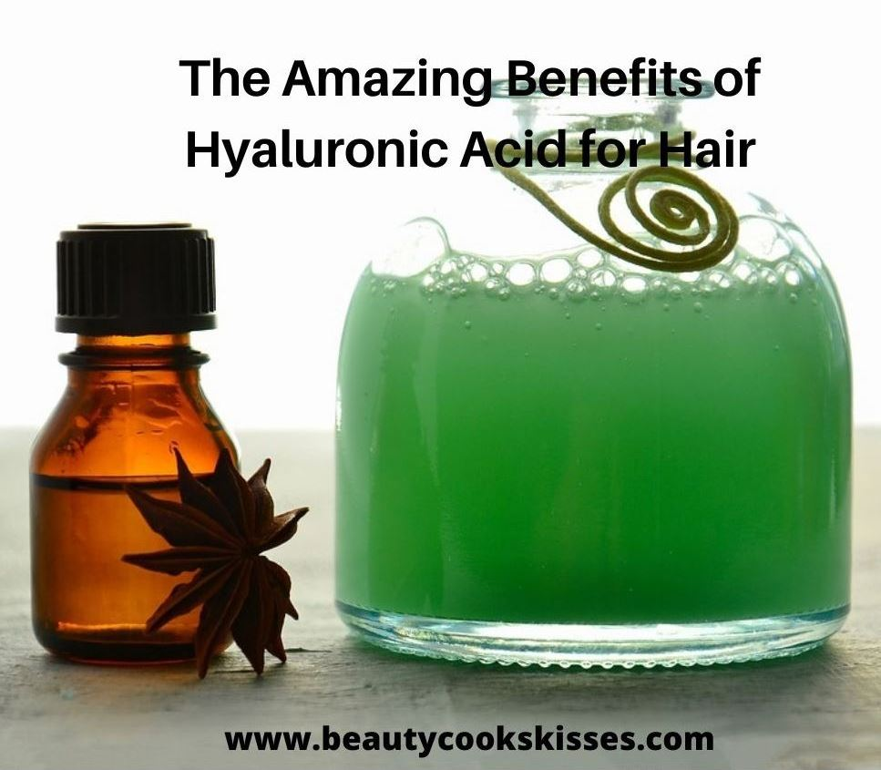 Hyaluronic Acid and shampoo of hair