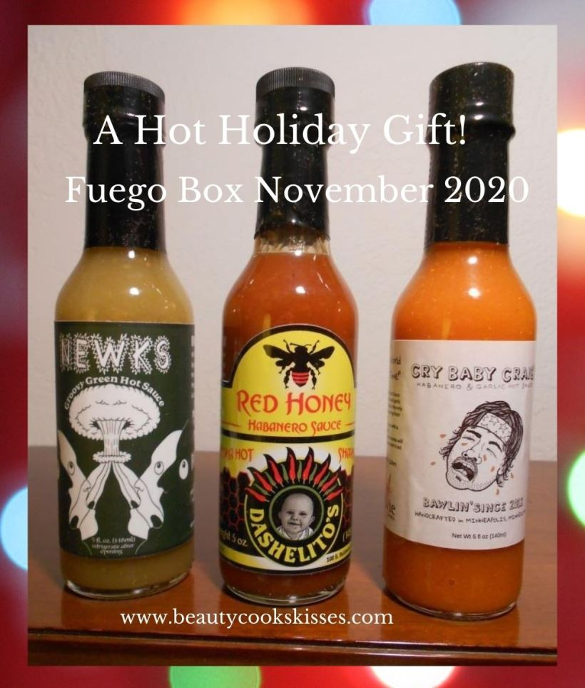 Hot Sauce Gift Fuego Box November 2020
