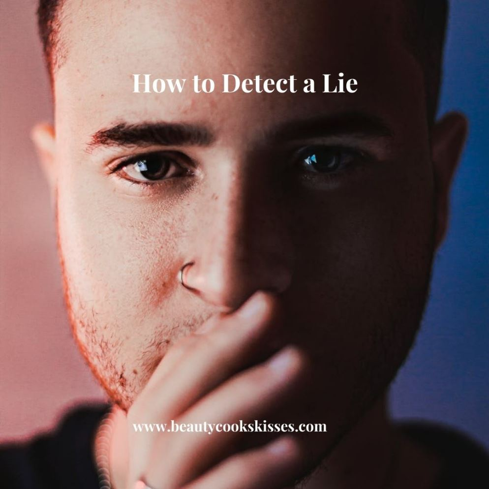 How to Detect a Lie Man Covering Mouth