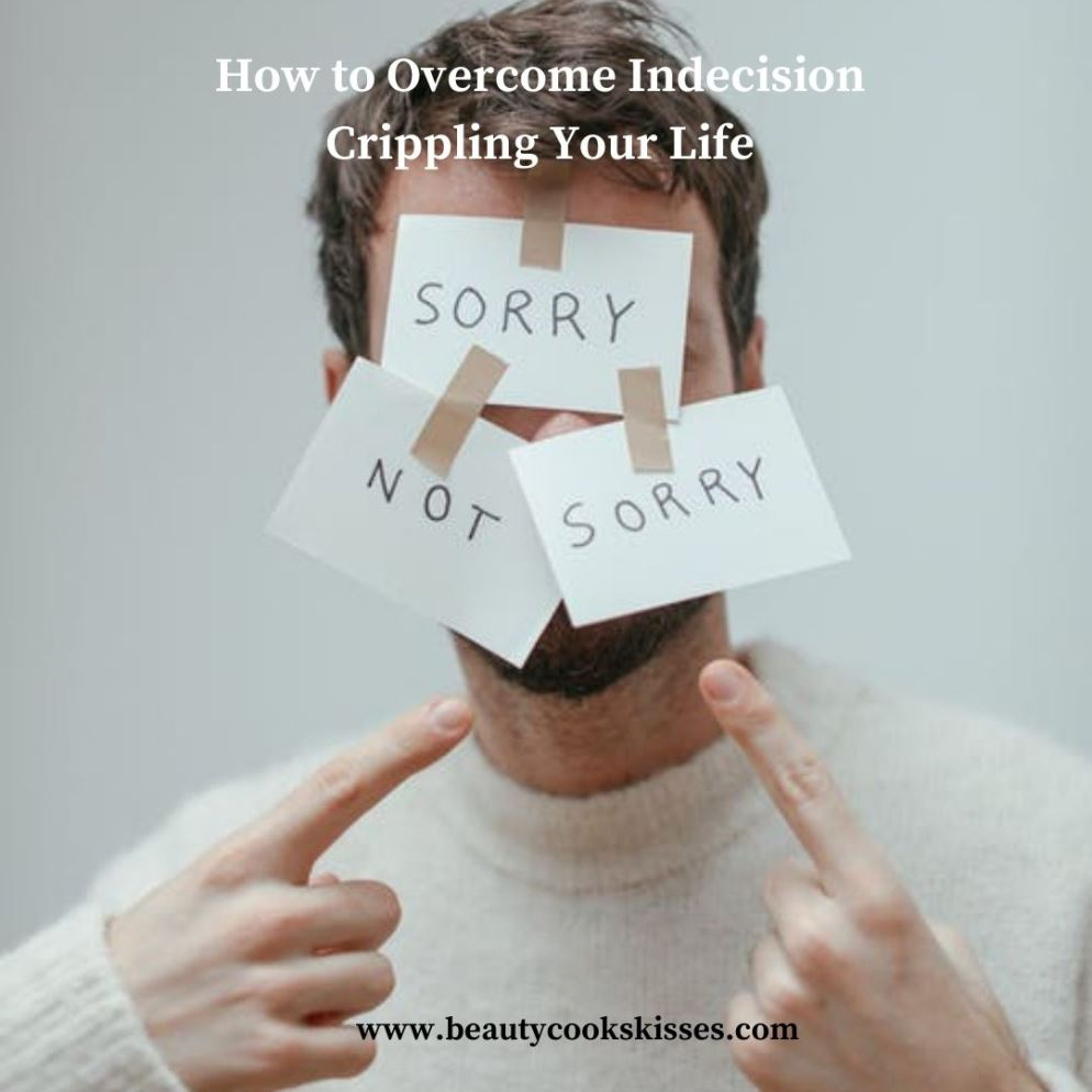 Indecision Man Struggling With Indecision
