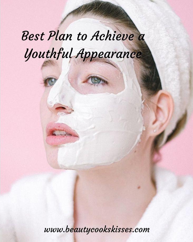 Youthful Appearance Woman Wearing Treatment