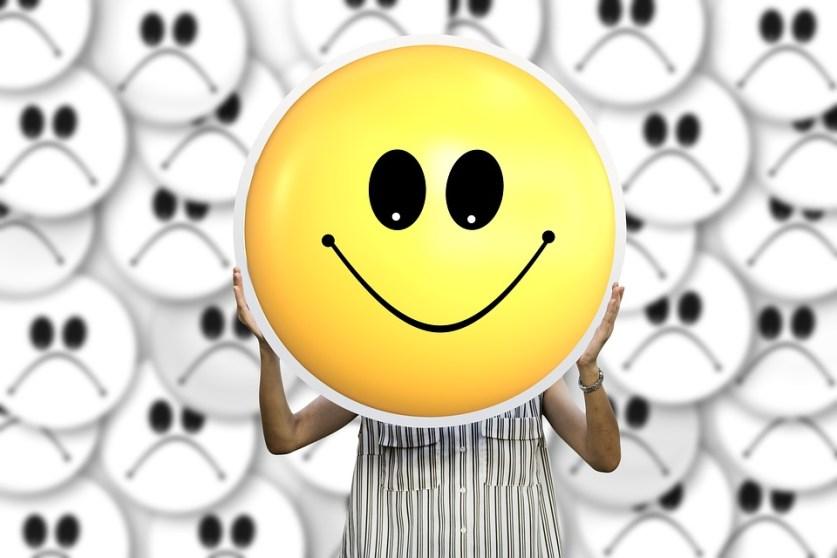 Positive Attitude Smilie