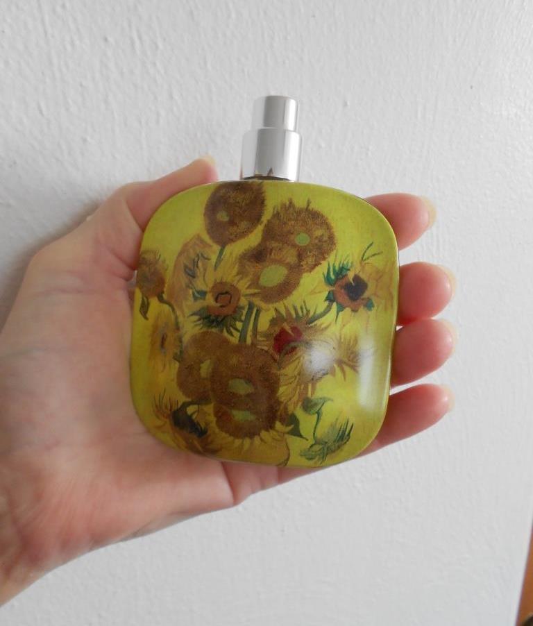 Floral Street Sunflower Pop Back of Perfume