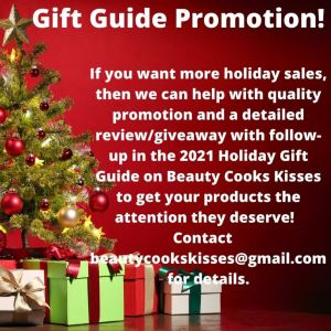 Holiday Gift Guide 2021 Promotion