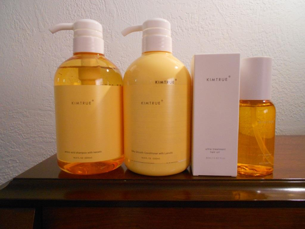Kimtrue Hair Care Products Amino Acid Line with Keratin