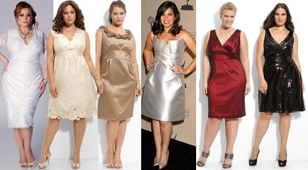 vestido fim de ano gordinha - Moda Festa para Gordinhas   Roupas para Festas