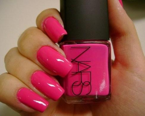 esmalte rosa verão