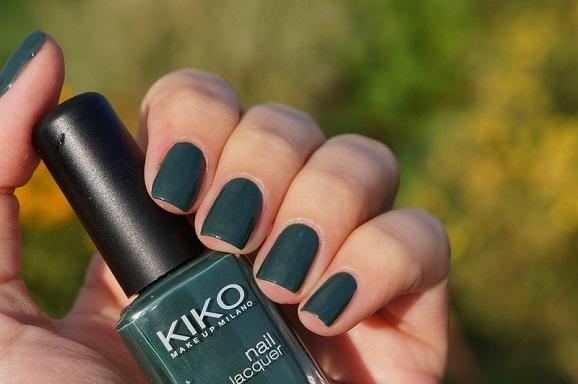 esmalte verde verão
