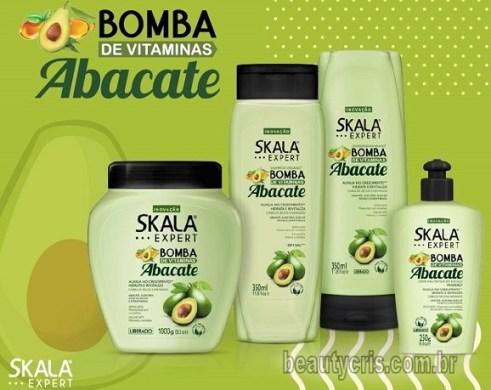 Nova Linha Bomba de Vitaminas com Abacate da Skala