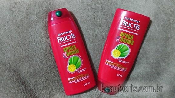 Fructis Apaga Danos da Garnier funciona