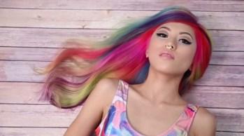 Coloridos A tendência dos cabelos coloridos - A tendência dos cabelos coloridos na moda 2018