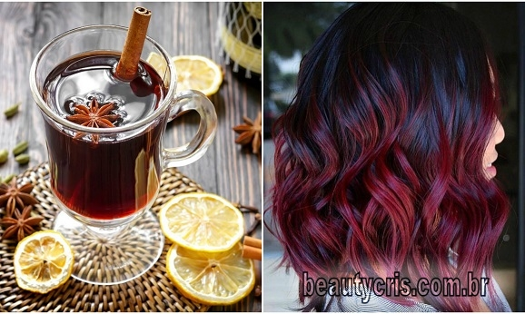 mulled wine hair tendencia para os cabelos