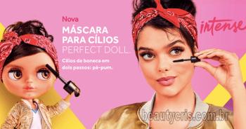 Máscara Intense Perfect Doll beautycris - Intense Perfect Doll: Conheça a nova Máscara de cílios da Intense