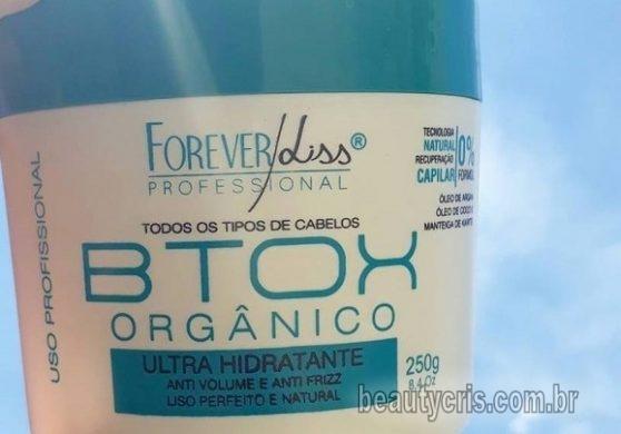 botox orgânico forever liss resenha completa