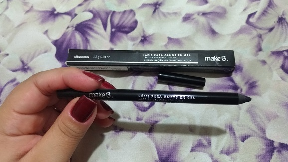 novo lápis preto make b