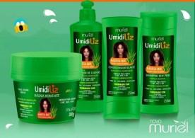 umidiliz babosa mix muriel - Linha Umidiliz Babosa Mix da Nova Muriel