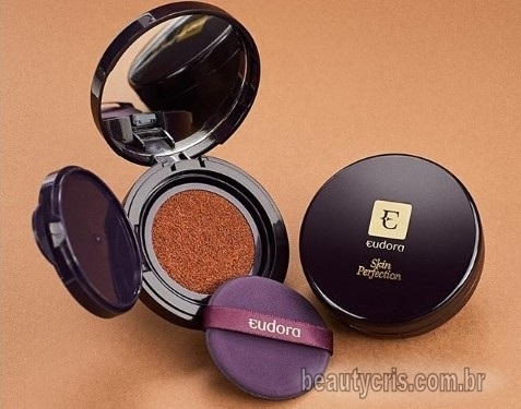 Base Cushion Eudora: Conheça a nova base da linha Skin Perfection