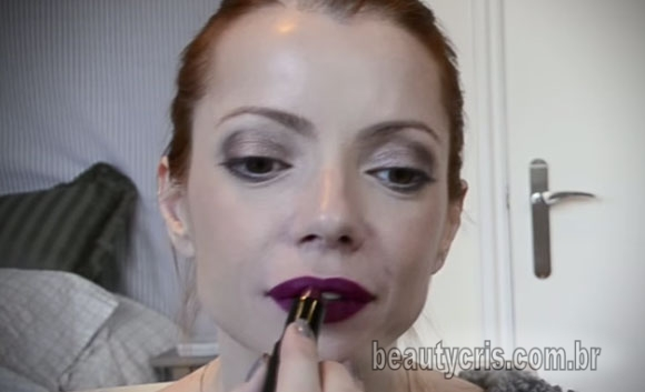 Batom Açaí da Julia Petit para MAC