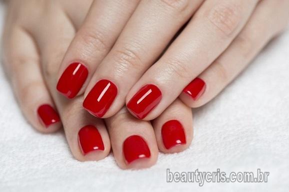 esmalte vermelho tendencia