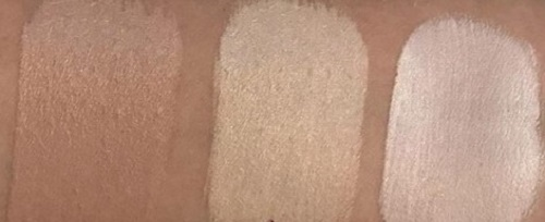 swatches base cushion luisance